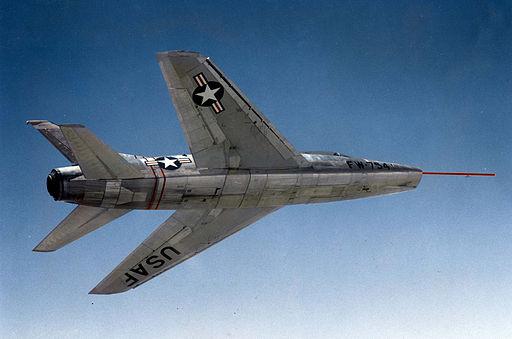 North American YF-100 (SN 52-5754) in flight 060905-F-1234S-053