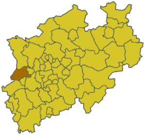 Viersen (district) - Image: North rhine w vie