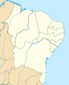 Northeast Brazil location map.png