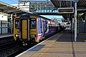 Northern Rail Class 156, 156421, Liverpool South Parkway railway station (geograph 3786972).jpg