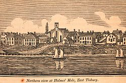 Northern view of Holmes Hole, East Tisbury, 1841