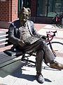 Northrop Frye statue.JPG