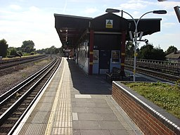 Northwick Park Island platform 2
