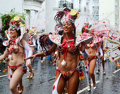 Scene of the annual Notting Hill Carnival, 2014 Notting Hill Carnival 2014 (1).JPG