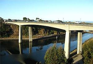 Noyo River - A new bridge was built in 2005