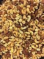 Nut and-fruit mixes DEN LILLE NOTTEFABRIKKEN Norway Royal mix notteblanding rostet krydret peanotter mandler cashew pecan 2017.jpg