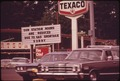 ONE OF MANY SERVICE STATIONS IN THE PORTLAND AREA CARRYING SIGNS REFLECTING THE GASOLINE SHORTAGE - NARA - 548170.tif