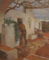O Namoro no Alentejo - Sousa Lopes (Casa dos Patudos - Museu de Alpiarça, Nº Inv. 85.3210).png