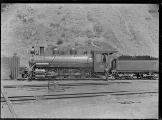 NZR OC class - OC class 2-8-0 steam locomotive NZR number 458