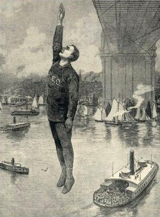 Steve Brodie (bridge jumper) - Odlum's fatal jump