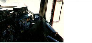 Santa Fe 98 - Image: Oerm atsf 98 control stand