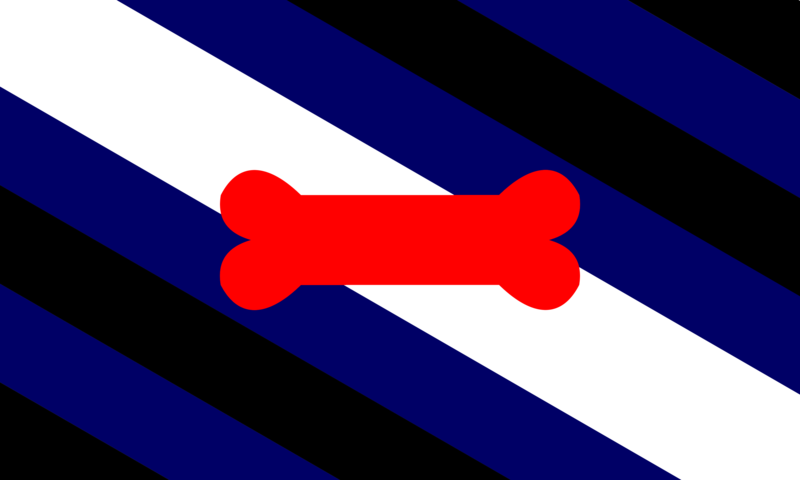 File:Official Puppy Pride Flag Dog Pride Flag of International Puppy.png
