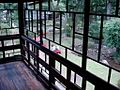 Old-fashioned Glass Window at the Edo-Tokyo Open Air Architectural Museum.jpg