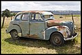 Old Austin Car by the Highway-1and (3149128036).jpg