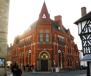 "William Harris (Birmingham Liberal) - The ""Old Bank"", Stratford-upon-Avon, built 1883"
