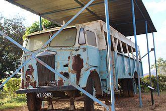 Chichiri Museum - Old bus at Chichiri Museum.