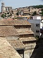 Old City Architecture Viewed from City Wall - Girona - Catalunya - Spain (14376155005).jpg