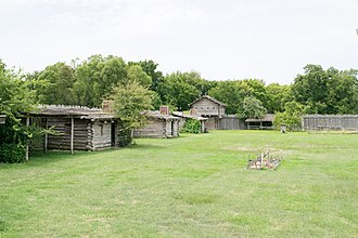 Fort Parker State Park - Image: Old Fort Parker Historic Site 1708131224 (36235754980)