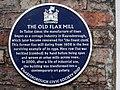 Old flax mill, Knaresborough, plaque.jpg
