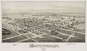 Whitewright, Texas - City in 1891
