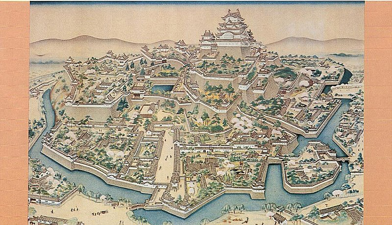 800px-Old_painting_of_Himeji_castle.jpg