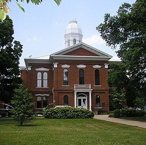 Oldham County Courthouse, gelistet im NRHP