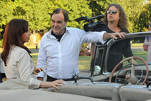 Oliver Stone - Stone and Argentina's President Cristina Fernández de Kirchner, January 14, 2009