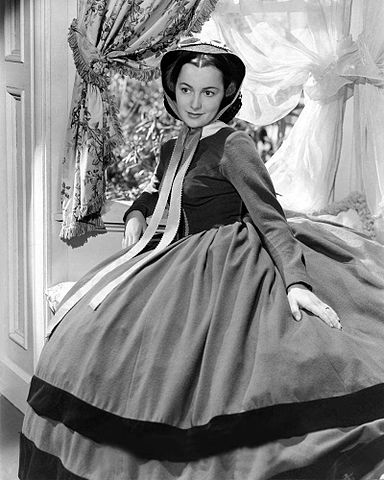 Olivia de Havilland Publicity Photo for Gone with the Wind 1939.jpg