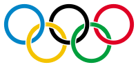 Olympic rings with white rims.svg