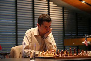 Alexander Onischuk - Alexander Onischuk plays a game for the U.S.