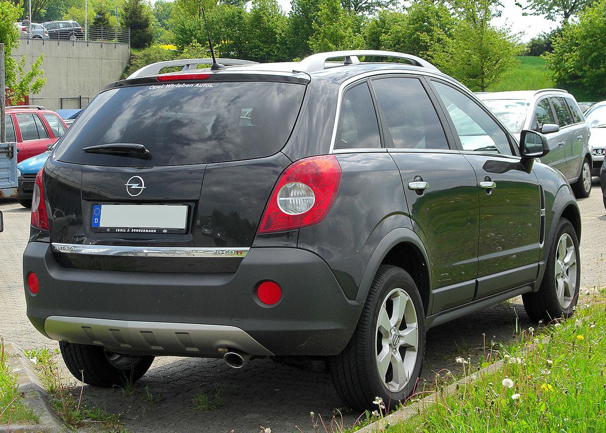 Opel Antara Wikipedia