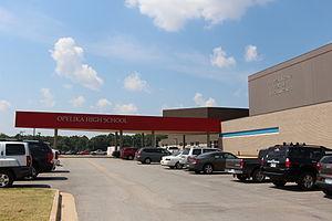 Opelika High School - Opelika High School front entrance