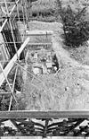 opgraving rechts van voorgevel - oud-valkenburg - 20180685 - rce
