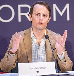 Oslo Freedom Forum 2018 Press Conference (110504).jpg