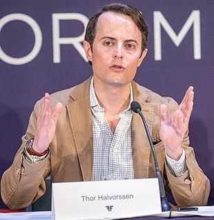 Thor Halvorssen (human rights activist) Venezuelan human rights activist