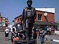Ostap Bender in Zhmerinka - Памятник Остапу Бендеру в Жмеринке - panoramio.jpg