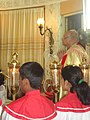 Oswald Cardian Gracias at St. Peter's Church, Bandra for a Benediction of the Blessed Sacrament.jpg