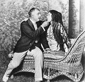 Ruth Rose - Otis Skinner and Ruth Rose in the play Pietro