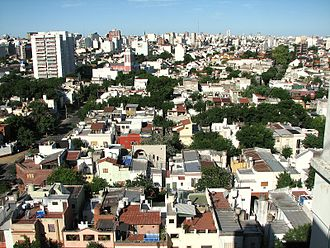 Parque Chacabuco - View of the district