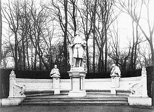 Otto IV, Margrave of Brandenburg-Stendal -  Monument for Otto IV on the Siegesallee