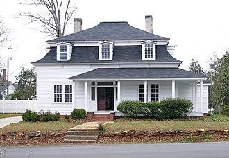 Otway Henderson House - Otway Henderson House, March 2012