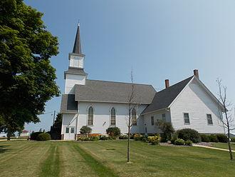 Our Savior's Kvindherred Lutheran Church (Calamus, Iowa) - Our Savior's Lutheran Church in 2014