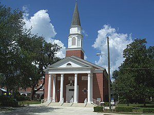 National Register of Historic Places listings in Seminole County, Florida - Image: Oviedo 1st Methodist 01