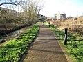 Oxford Science Park, Footpath from Minchery Farm - geograph.org.uk - 727104.jpg