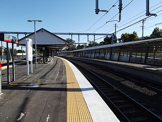 Oxley railway station railway station in Brisbane, Queensland, Australia