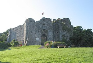 Mumbles (district) - Oystermouth Castle, a venue for open air Shakespearean performances