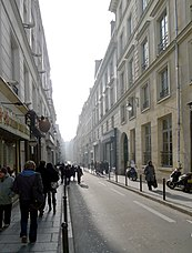 Sentier - A typical street in the neighborhood, Rue du Sentier