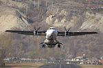 PIA ATR-42-500 takes off at Gilgit Airport.jpg