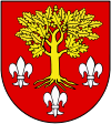 Coat of arms of Poddębice County