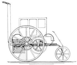 PSM V57 D417 Trevitchick steam carriage of 1803.png